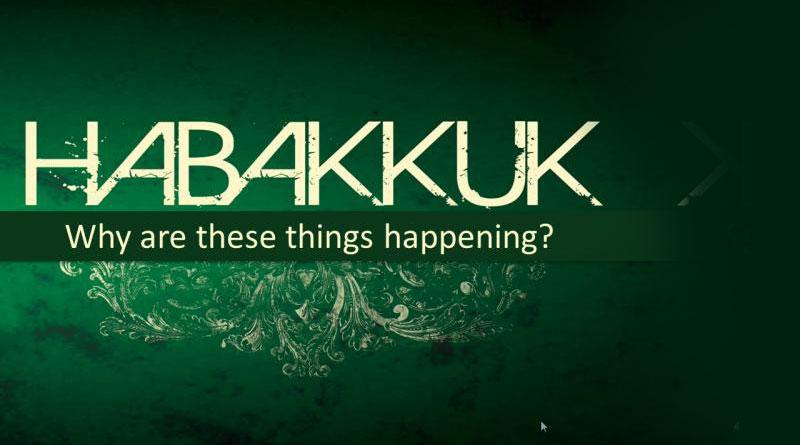 Habakuk preek or Verkade